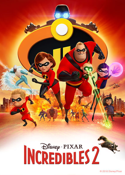 The Incredibles 2 on Netflix Canada
