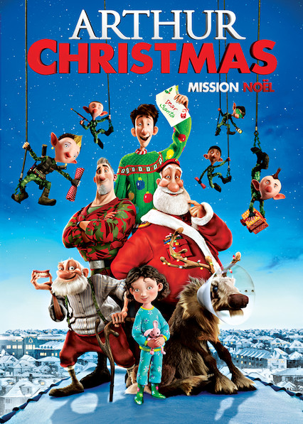 Arthur Christmas on Netflix Canada