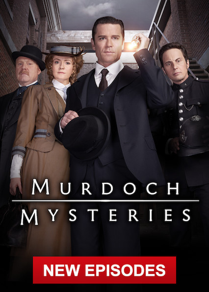 Murdoch Mysteries on Netflix Canada