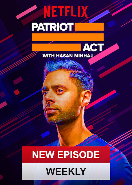 Patriot Act with Hasan Minhaj on Netflix Canada