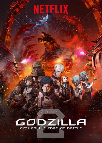 GODZILLA City on the Edge of Battle on Netflix Canada